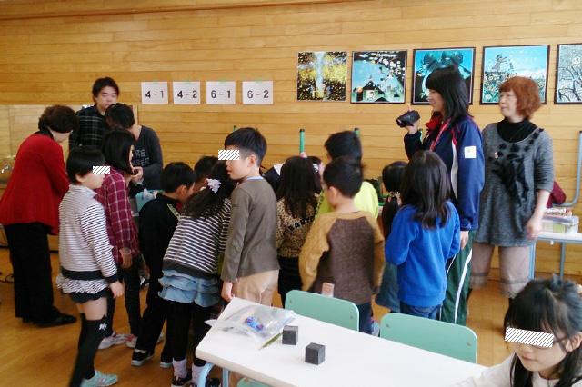 活動報告:2017年1月白石小学校ミニ児童会館